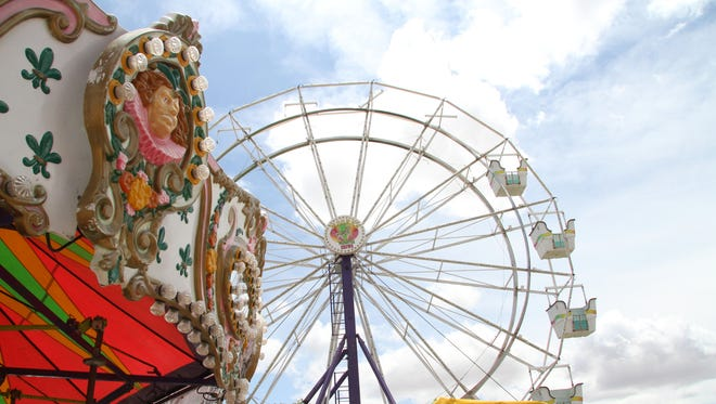 Carlsbad Heights Lions Club annual carnival this week.