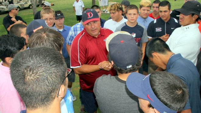 Deming High Wildcat Football Coach Fernie Holguin Jr. will welcome prospected players for two-a-day practices from 6-8 a.m. and from 4-6 p.m. on Monday, Aug. 1, at the DHS Practice Field.