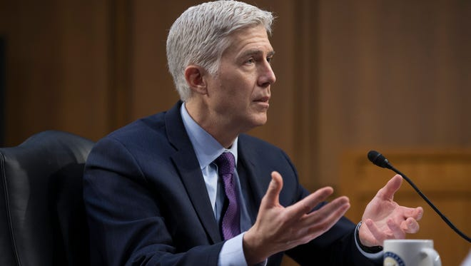 Judge Neil Gorsuch on March 21, 2017.