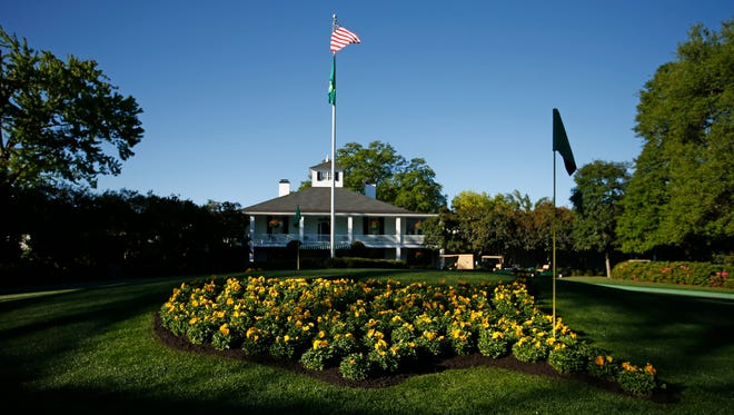 Club house at Augusta National GC.