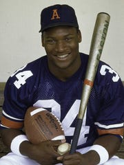 Bo Jackson was the first athlete selected to all-star games in two major sports and he earned Major League Baseball All-Star MVP honors in 1989.