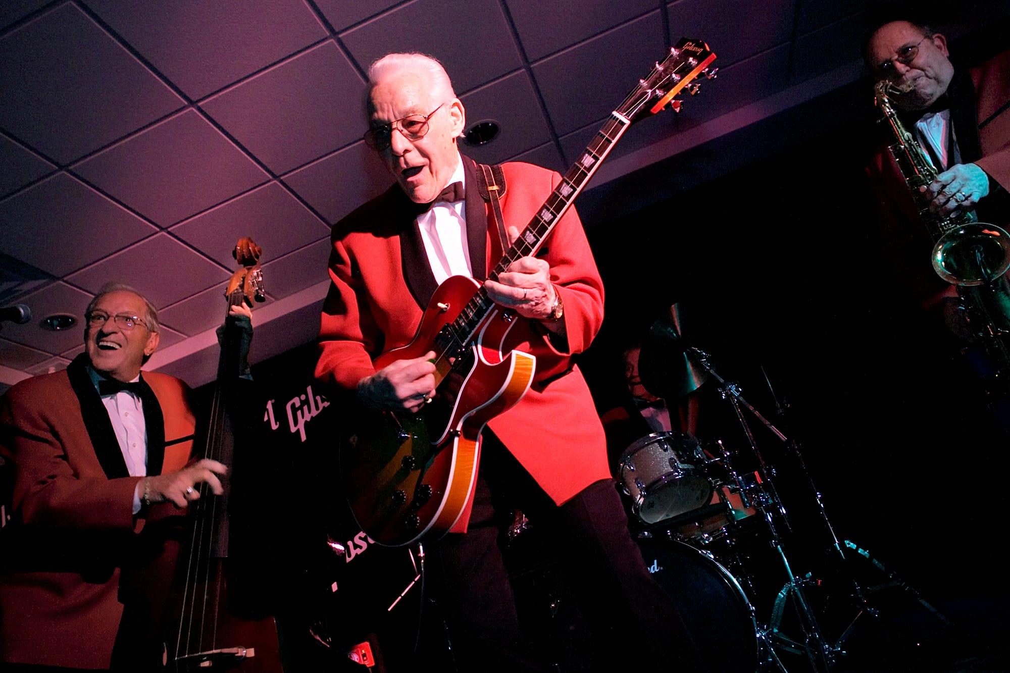 Frank Usher Rock Guitarist