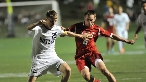 The Butler men's soccer team upset defending national champ Indiana in October, then reached the semifinals of their first Big East Tournament.