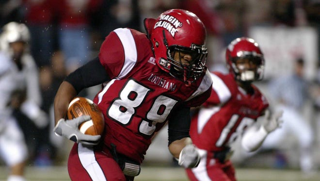 Tight end Ladarius Green is one key cog to success in Mark Hudspeth's first season at UL in 2011.