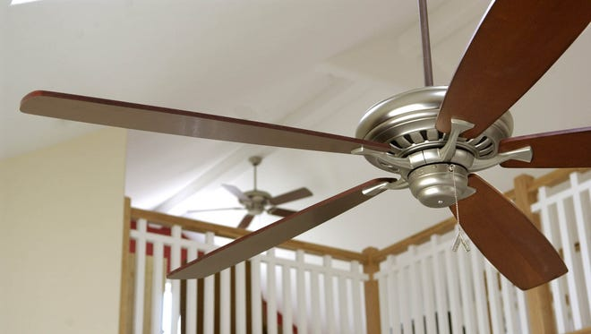 Get the air circulating  Ceiling fans can help save on cooling costs. In the summer, running a ceiling fan can make a room feel cooler, allowing you to turn up the thermostat by a degree or two.