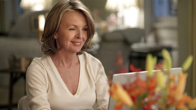 "Diane Keaton in a scene from ""Something's Gotta Give."""