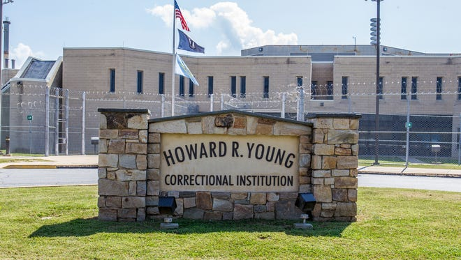 The Howard R. Young Correctional Institution in Wilmington.