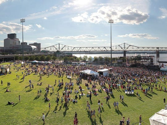 Forecastle festival is scheduled for July 14-16 in Louisville, Ky.
