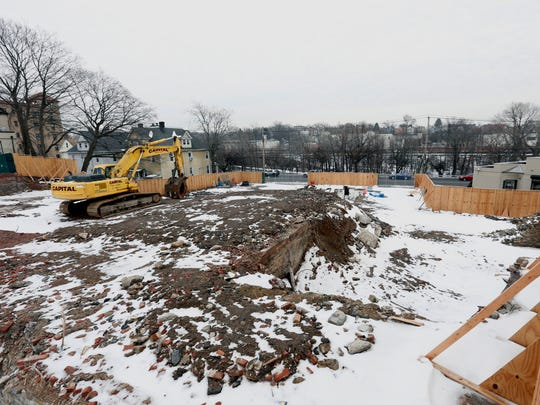 Construction lot at 447, 449 and 453 Bronx River Road in Yonkers.