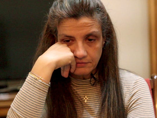 Vasiliki Gova, at her home in Athens, is one of the
