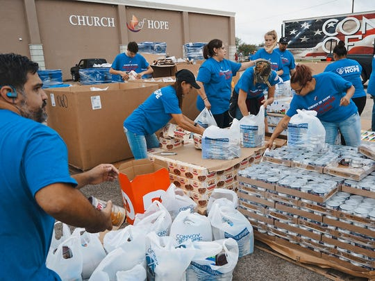 Convoy of Hope is providing relief to those affected