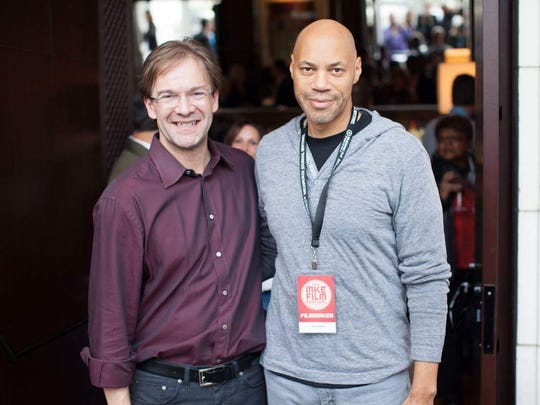 Milwaukee County Executive Chris Abele (left) and John Ridley.