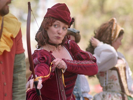 """The acting group Stark Ravens performs Shakespeare's """"Love's Labour's Lost"""" at the Valhalla Renaissance Festival at Camp Richardson Resort."""