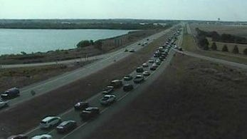 Backup on Del. 1 at Del. 9 in Kent County.