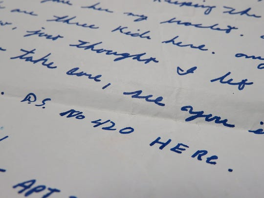 A letter from the 1970s shows one of the earliest uses