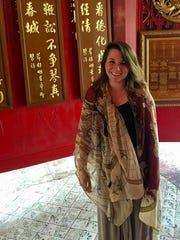Columnist Jenna Intersimone on a recent trip to Thailand.