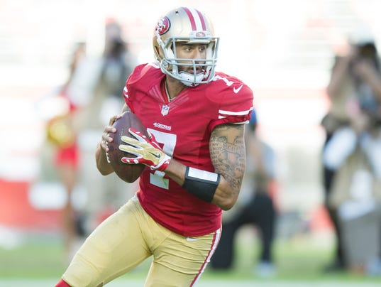 USP NFL: ST. LOUIS RAMS AT SAN FRANCISCO 49ERS S FBN USA CA
