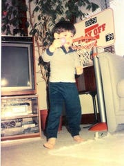 Davis provided play by play around the house as a kid.