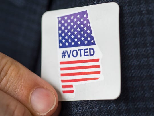 Alabama's new #Voted stickers have made it at least