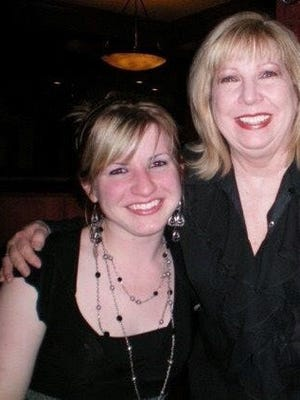 Sara and her mother, Jamie. The two were very close until her mother died of cancer in late  2011.