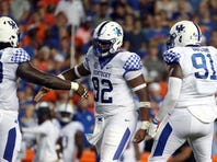 How can Kentucky football upset Florida? It can start by keeping Sawyer Smith upright