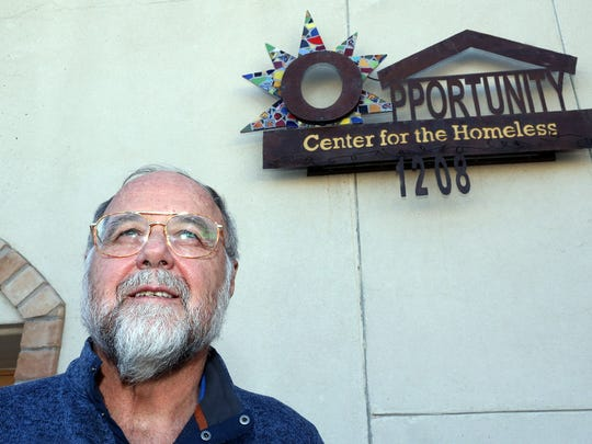 Ray Tullius, who himself became homeless at a point in his life, founded the Opportunity Center along with his wife, Lilly Tullius.