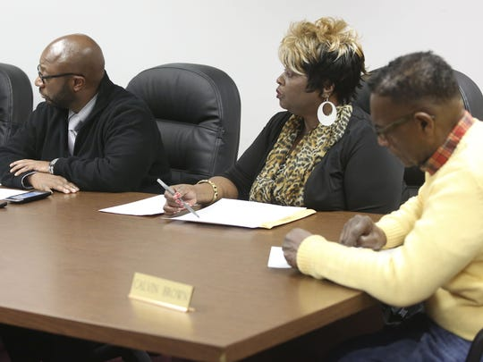 Members of the Wilmington Housing Authority board,