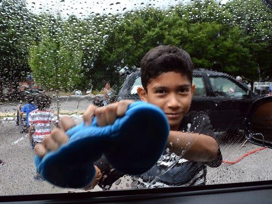 Safe Camp kids car wash