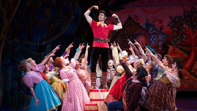 "Neenah native Christiaan Smith-Kotlarek will handle the role of Gaston in ""Disney's Beauty and the Beast,"" which makes its return to the Fox Cities PAC Friday."