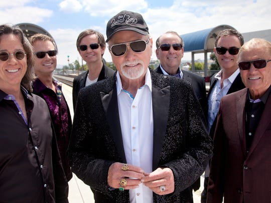 Mike Love (center) and the Beach Boys released a new