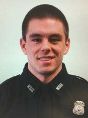 Wayne State University Police Officer Collin Rose