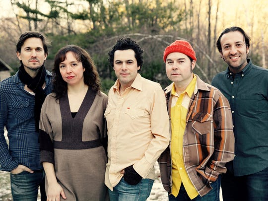 The Mammals are, from left, Konrad Meissner, Ruth Ungar, Mike Merenda, Ken Maiuri and Jacob Silver.