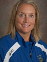 Cindy Gregory coached with Bonnie Kenny at UMass and
