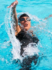 Phoenix Xavier Prep swim coach Maureen Rankin was an