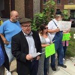 Advocates of upstate secession held a news conference Wednesday afternoon in downtown Binghamton.