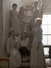 Sofia Coppola, center, and the female cast of 'The