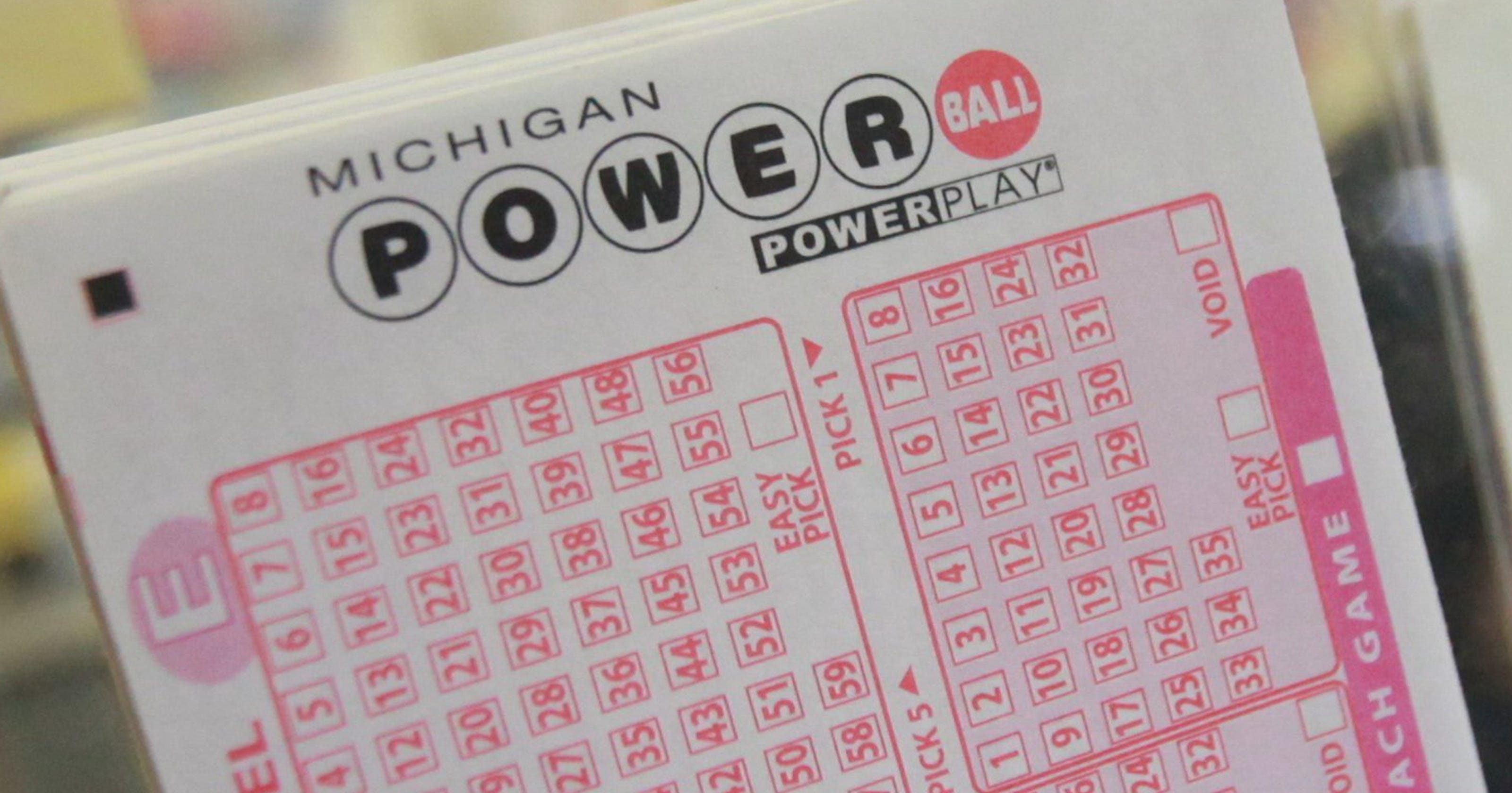 Michigan Lottery Woman S Mistake Wins Her Powerball Prize