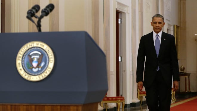President Obama addresses the nation Tuesday night.
