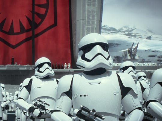 "Stormtroopers get a makeover for ""The Force Awakens,"""