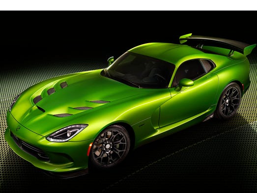 Stryker Green Debuts SRT Viper at North American International Auto Show in January.