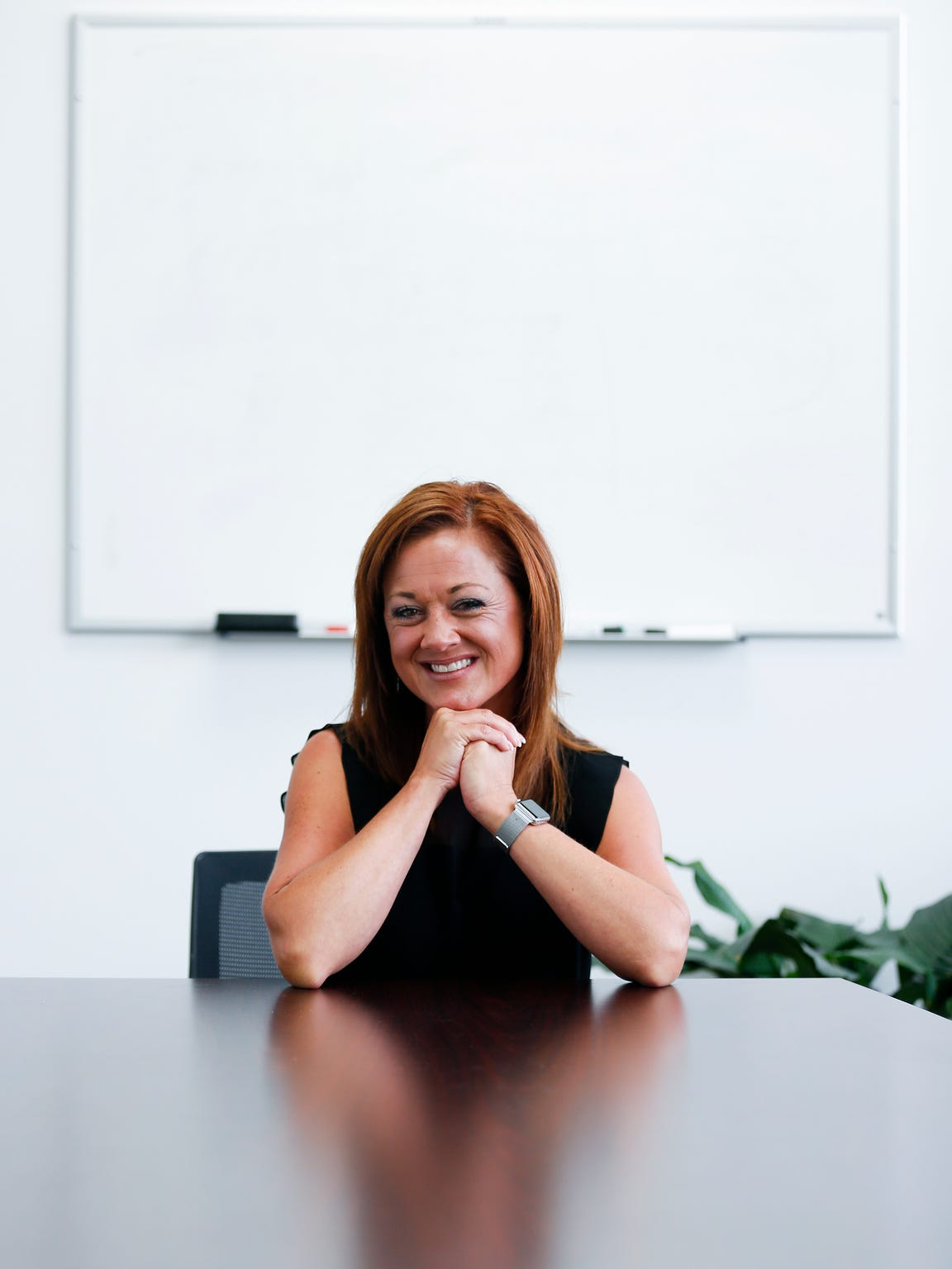 Melissa Daugherty works as a community mental health