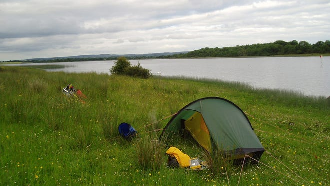 Use yard sales to stock up on supplies for camping trips or even extra household items. (Photo via Flickr.com from Steve Cadman)