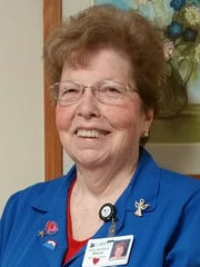Sharon Tracey named Carroll Hospital's July Outstanding Volunteer.