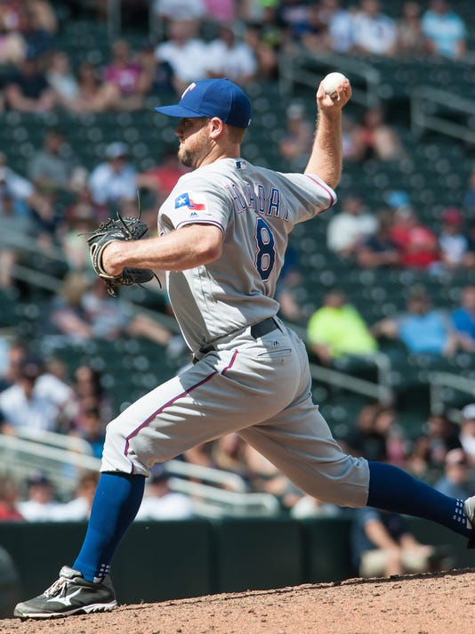 Image result for bryan holaday texas rangers