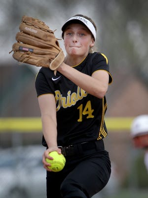 FILE – Avon's Haylie Foster  helped the Orioles back to the Class 4A state title game.