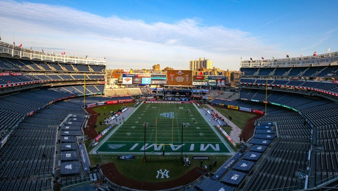 Michigan State will play its bowl game in Yankee Stadium.