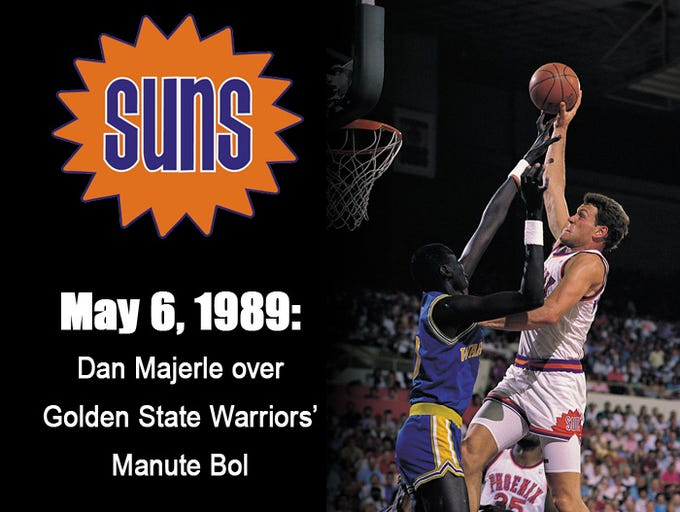 Take a look at the Suns' top dunks through the years,