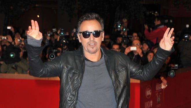 "Bruce Springsteen attends ""The Promise: The Making of Darkness on the Edge of Town"" during the 5th International Rome Film Festival at the Auditorium Parco Della Musica on November 1, 2010 in Rome, Italy."