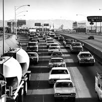 Which freeway came first in the Valley?