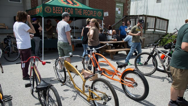 People's Brewing Co., 2006 N 9th St, Lafayette, recently received bronze level bicycle friendly status.